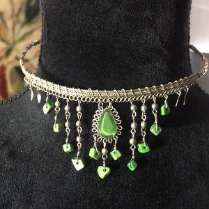 Jewelry - Vintage Boho Choker Necklace Earring Set